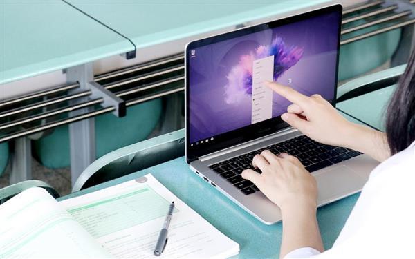 荣耀MagicBook触屏版笔记本登场:英特尔八代酷睿绝配压感笔