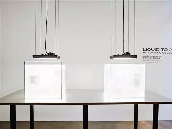 麻省理工快速液体3D打印技术可在几分钟内创建灯具
