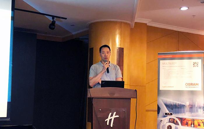 新晔电子汽车照明与红外上海专场成功举办!