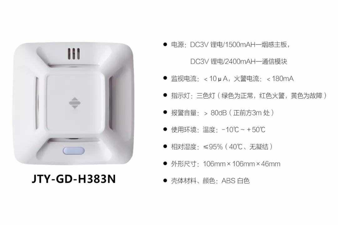 手机接收火情:泛海三江智能烟雾报警器 让火灾防控步入大数据时代