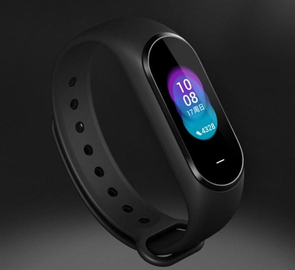 小米众筹上架黑加手环:AMOLED彩屏/多功能NFC