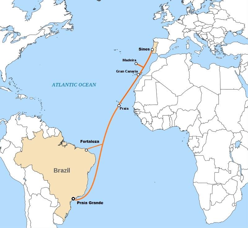 葡萄牙科技基金会参建EllaLink海底光缆
