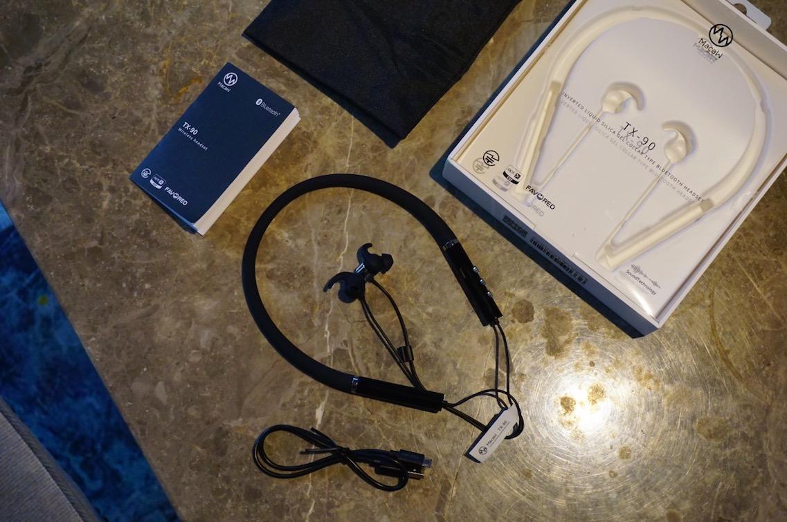 以腔调和功能取胜 脉歌TX90运动挂脖式蓝牙耳机