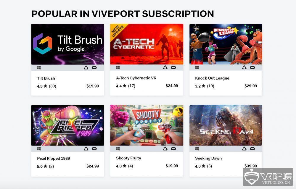HTC宣布Viveport将于9月4日起支持Oculus Rift