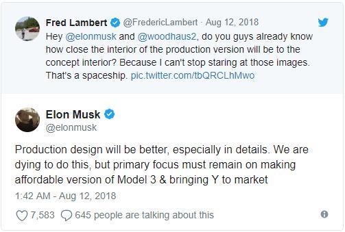 新轻量化电池模块设计将助力3.5万美元版Model 3的推出 预计半年后上市