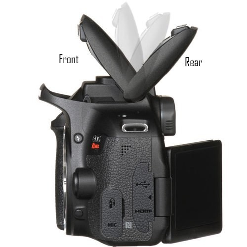 佳能的新专利曝光 重新定义相机的内置闪光灯