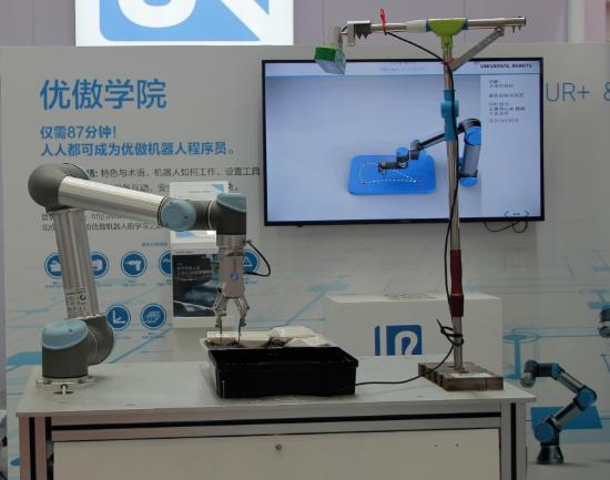 优傲机器人:人机协作触发巨大商机