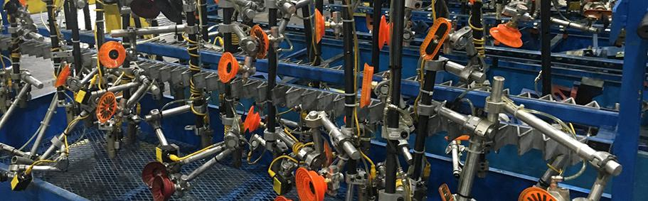 Piab摩擦吸盘助力冲压生产线提高生产效率
