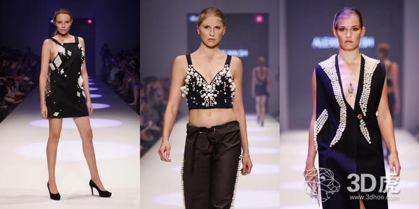 Alexis Walsh APEX系列时装将传统时尚与3D打印融为一体