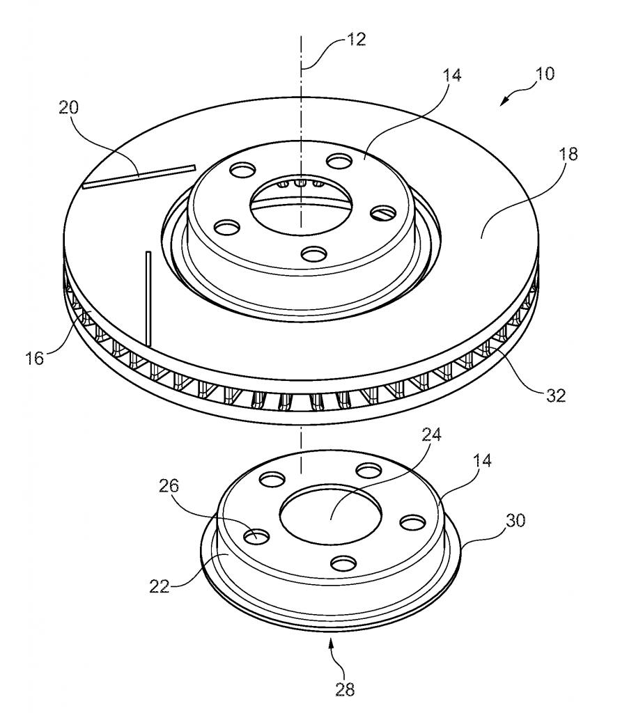 福特申请3D打印制动盘专利:采用激光沉积焊接技术