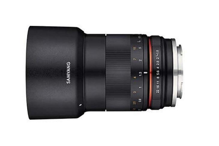 三阳正式发布MF 85mm F1.8 ED UMC CS无反镜头