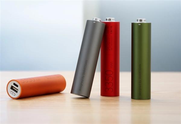 """新版坚果""""电池形电池""""移动电源发布:还是手电筒"""