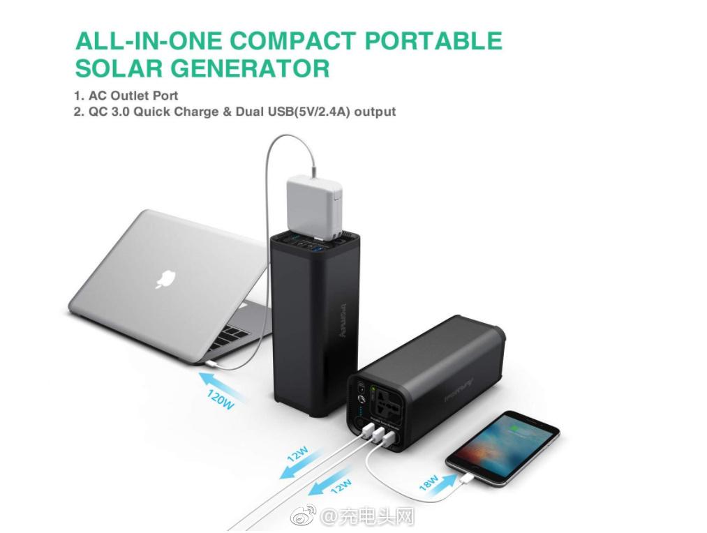 iFORWAY推出便携式电源储能箱:154Wh,可充笔记本电脑