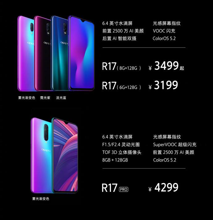 "OPPO R17拥有迄今为止最自然的""刘海""屏"