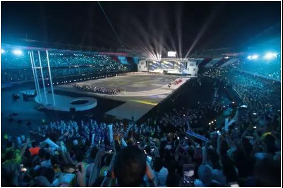 新趨勢:體育賽事與LED顯示屏等新技術融合