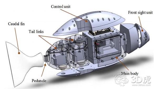 研究人员利用仿生学和3D打印技术开发机器鱼