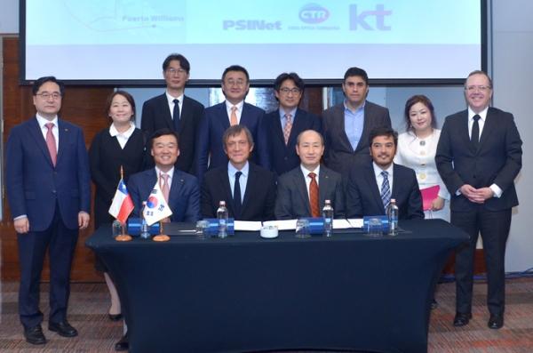韩国电信助力智利3000千米海底光缆建设