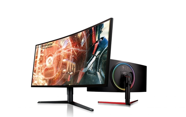 LG发布全新系列大屏游戏显示器:造型吸睛