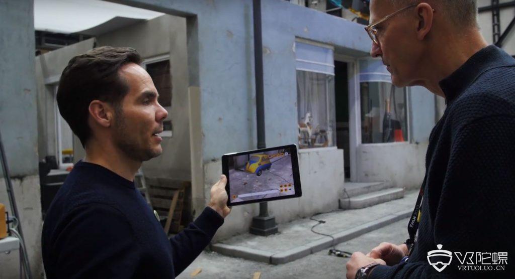 德国电影学院为协作电影制作开发新的AR解决方案