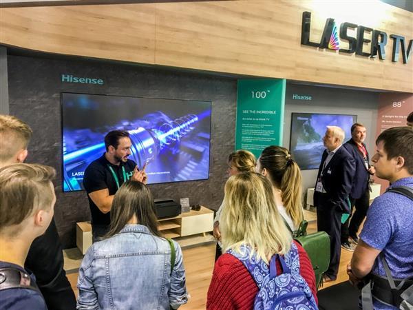 海信2018IFA展推激光全系列产品 将在15国全新上市