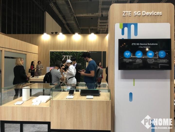 IFA2018 中兴5G终端方案全球首秀