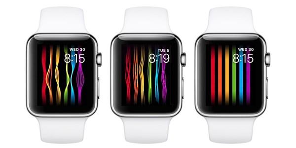 Apple  Watch彩虹色表盘,被下架了