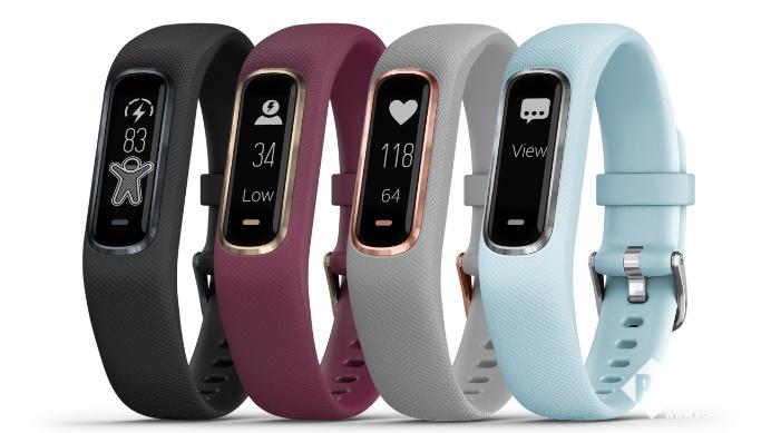Garmin发布新款智能手环Vivosmart 4