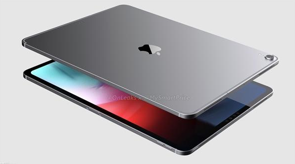 新iPad Pro渲染图曝光:无刘海/窄边框
