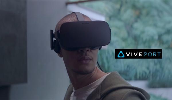 VR巨头联手!Oculus即日起接入HTC VivePort应用商店
