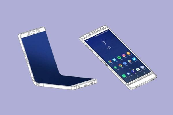 11月发 三星可折叠手机外形曝光:展开后可达7.2英寸