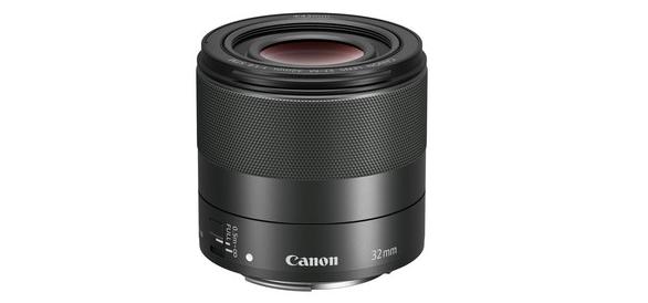 佳能推出大光圈定焦镜头新品EF-M 32mm f/1.4 STM