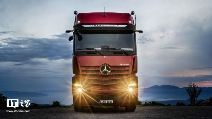 奔驰发布新款Actros卡车:半自动驾驶或解决司机疲劳驾驶问题