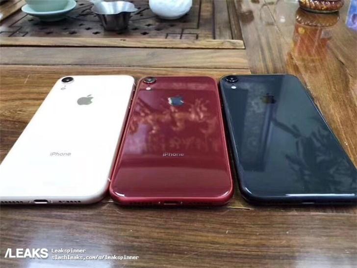 6.1英寸苹果iPhone 9 LCD新机模曝光:全新红色、蓝色