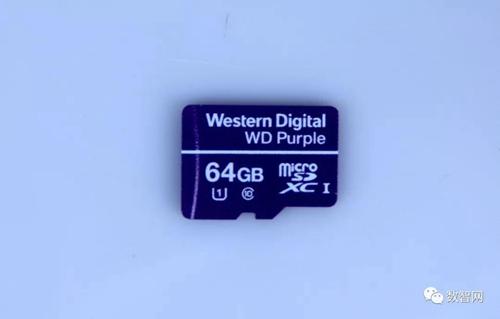 西部数据针对视频监控打造专属TF移动存储卡
