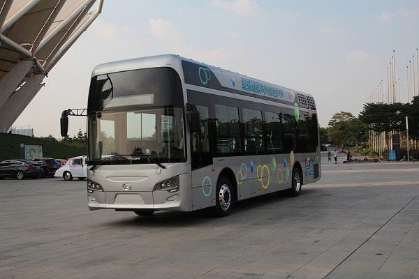 点赞!中国氢燃料电池汽车首次出口国外