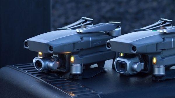 大疆Mavic 2无人机云台升级给力:支持左右75度平移
