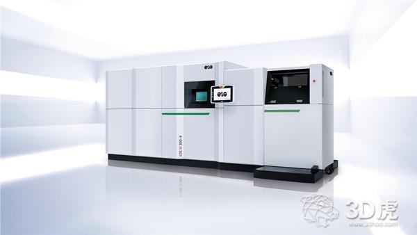 EOS发布四激光器3D打印机EOS M 300-4 打印效率提升4-10倍