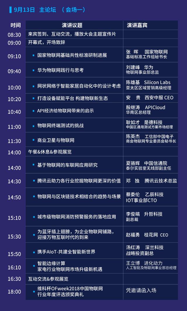 OFweek2018中国物联网大会暨展览会今日开幕 ——拥抱万物互联 构建共赢生态