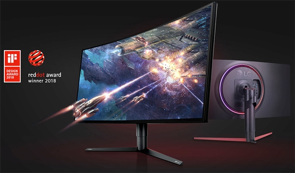 LG发布34GK950曲面带鱼屏显示器:1440P、最高144Hz