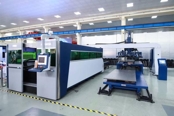 宏山激光发布HSG激光上下料机器人 提高激光切割机利用率