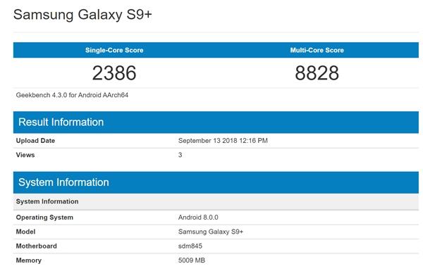 iPhone XS Max GeekBench跑分出炉