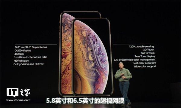苹果iPhone XS/XS Max/XR均搭载120Hz屏幕 但游戏玩家别高兴太早