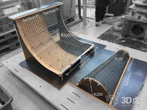 建筑3D打印新方法SCRIM 使用网格来生产轻质结构