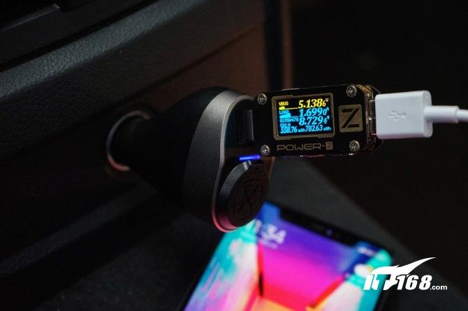 安全颜值担当 公牛一拖三扩展式车载USB充电器评测