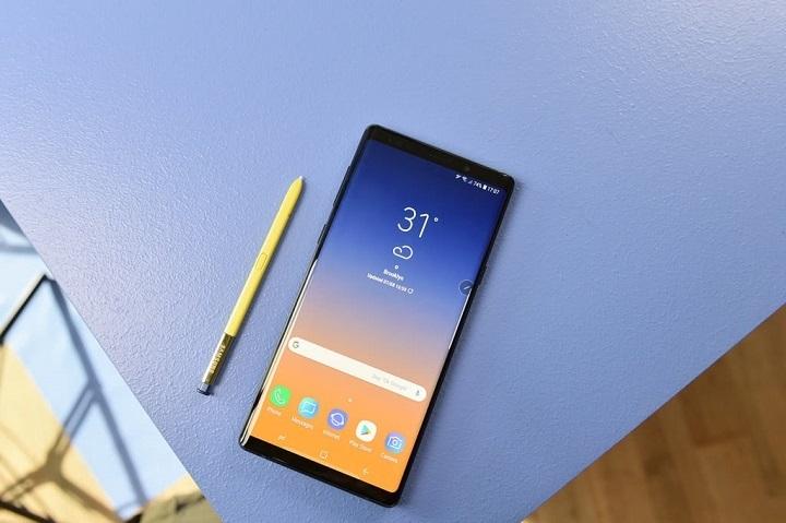 三星Galaxy Note9发生首例电池自燃爆炸