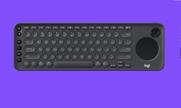 罗技发布K600电视键盘:无线双模、自带触摸板和方向键
