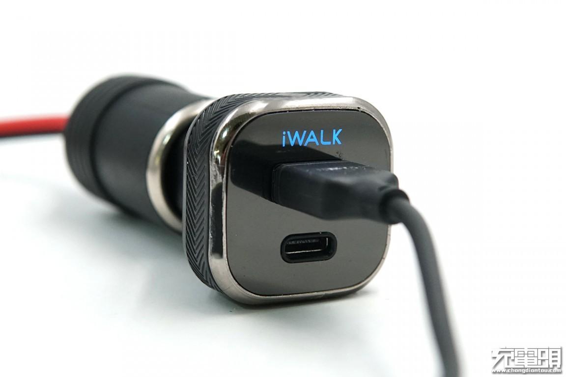 拆解报告:iWALK爱沃可CCD009P车载充电器