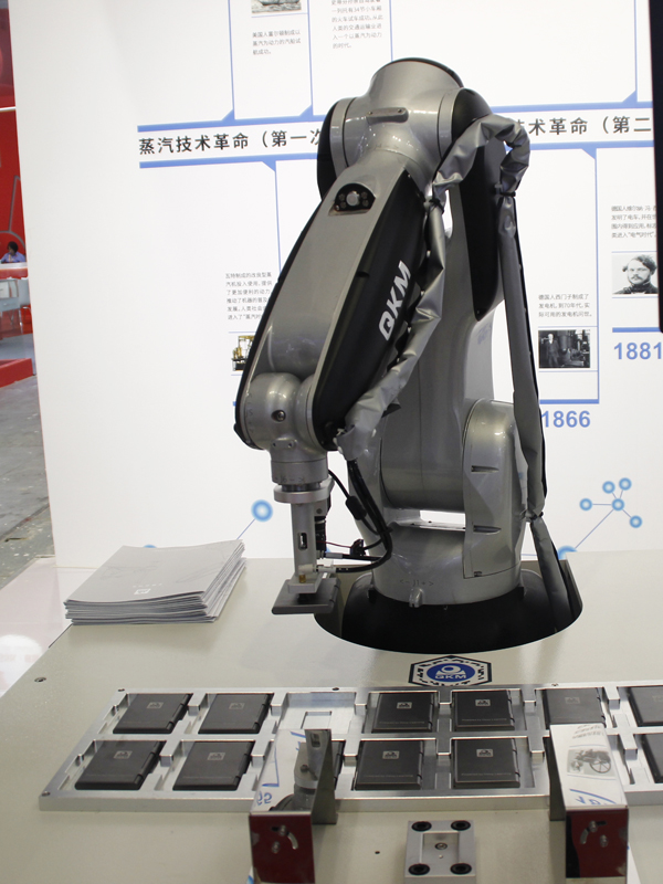 工博會:百聞不如一見的李群自動化機器人集合!