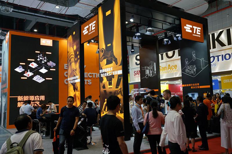 TE Connectivity亮相2018工业博览会:以高效连接助力未来工厂
