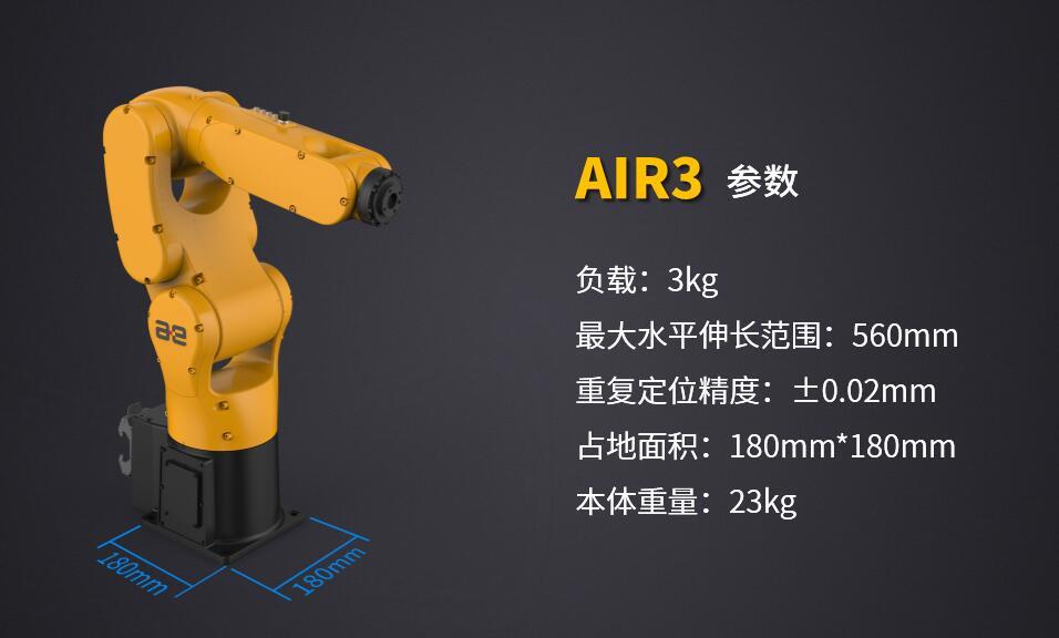 亮剑工博会!配天机器人重磅发布AIR3及驱控一体控制系统